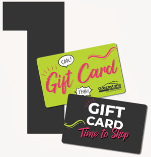 It's time to shop with a Greenstone SC Gift card!