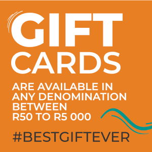 Gift Cards available in amounts of R50 to R5000